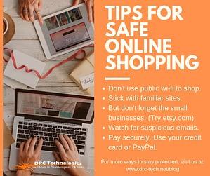 tips for safe online shopping