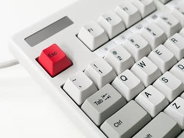 escape button on computer keyboard