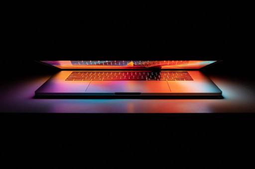 sleek laptop computer