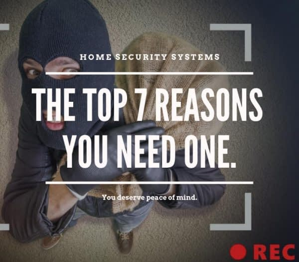 Home Security Top 7 Reasons You Need One Burglar looking at camera